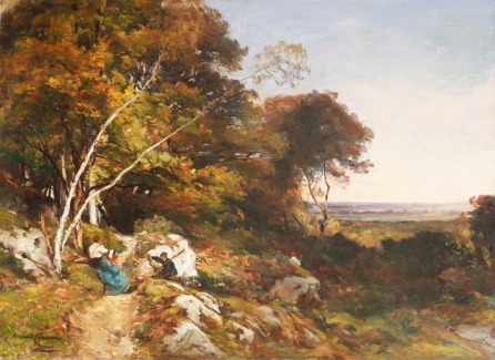 dipinto di Armand Cassagne