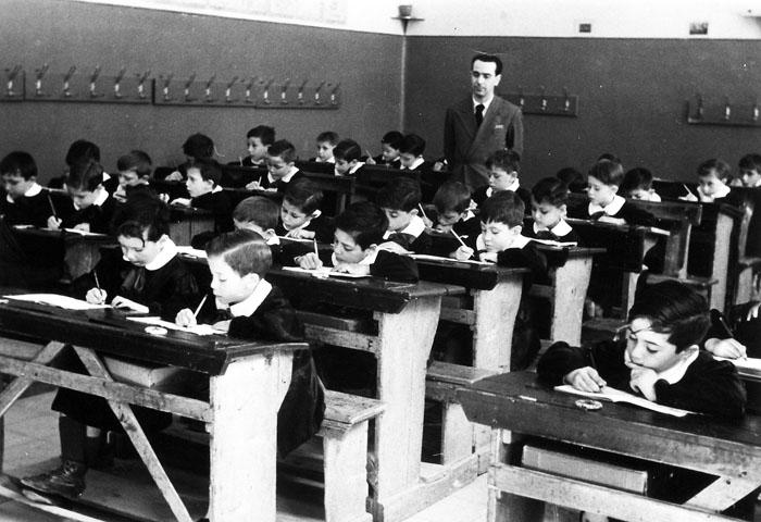 scolari negli anni '50