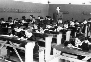 scolari degli anni Cinquanta