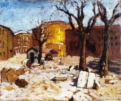LUIGI ZAGO Demolizioni a Piazza della Vetra