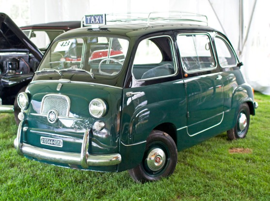 vecchio taxi italico