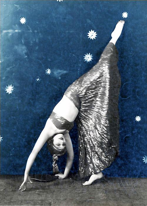 danzatrice e stelle