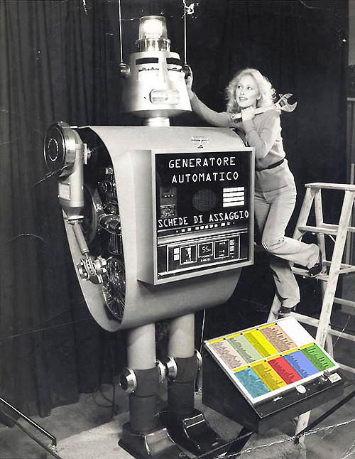 generatore automatico schede di assaggio