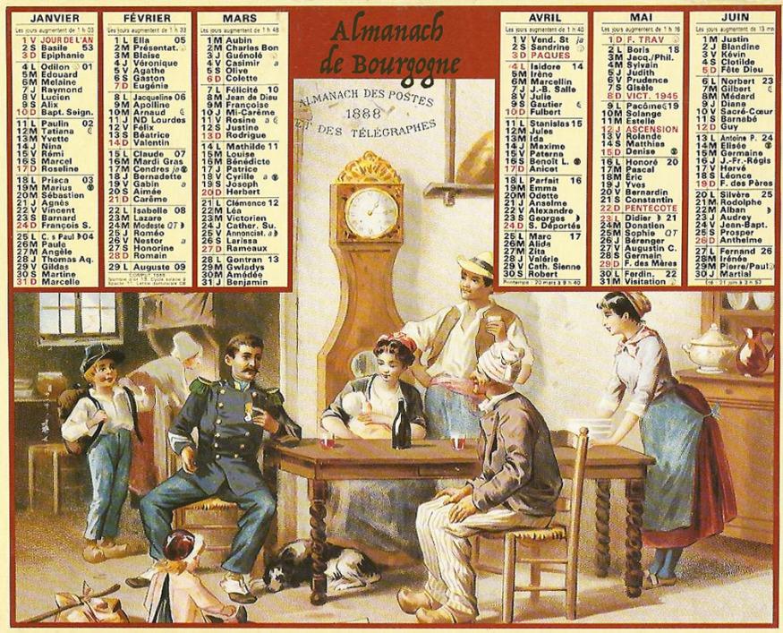 Almanacco di Borgogna