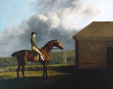 Otho, with John Larkin up 1768 George Stubbs 1724-1806 Presented by Paul Mellon through the British Sporting Art Trust 1979 http://www.tate.org.uk/art/work/T02375