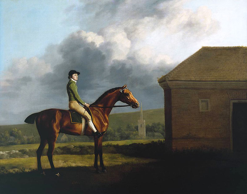 Otho, with John Larkin up 1768 George Stubbs 1724-1806 Presented by Paul Mellon through the British Sporting Art Trust 1979 http://www.tate.org.uk/art/work/T02375